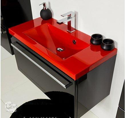 Modernūs vonios baldai Genoa