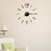 """Modernus veidrodinis sieninis laikrodis-lipdukas """"Time"""""""