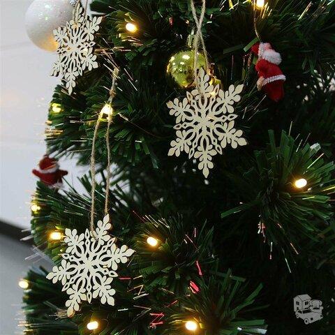 Medinė Kalėdinė dekoracija