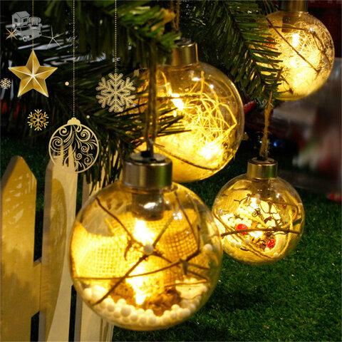 LED kalėdinė eglutės dekoracija - žaisliukas