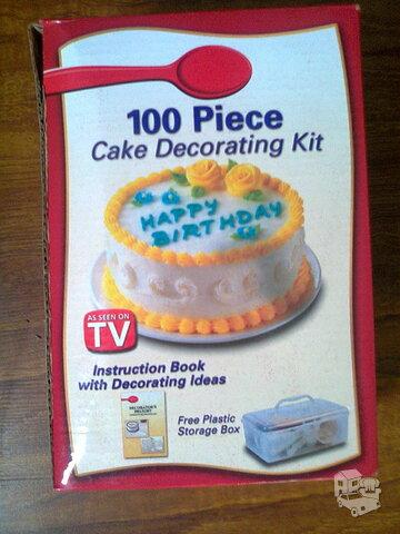 Torto puošimo rinkinys