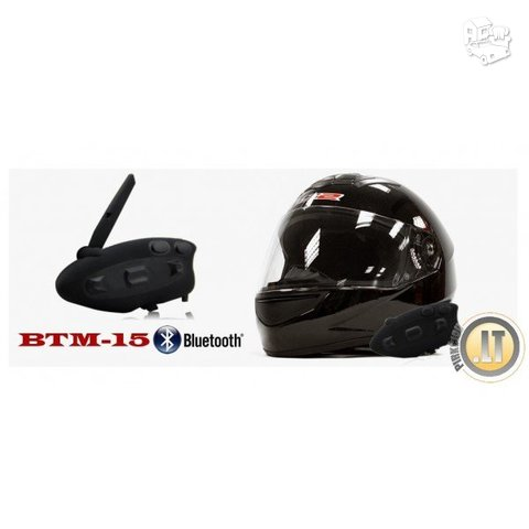 BTM-15 SLIM BLUETOOTH SISTEMA MOTOCIKLAMS