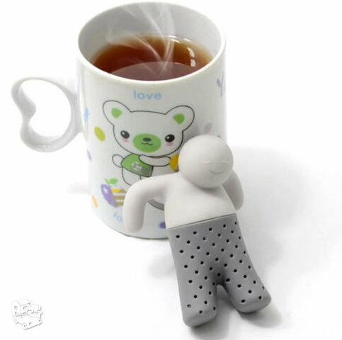Silikoninis sietelis arbatžolėms Mr. Tea