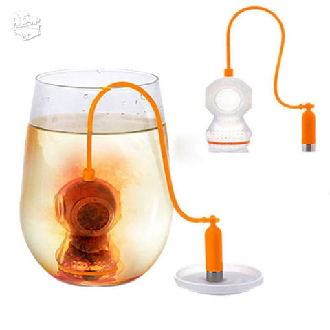 Silikoninis arbatos sietelis