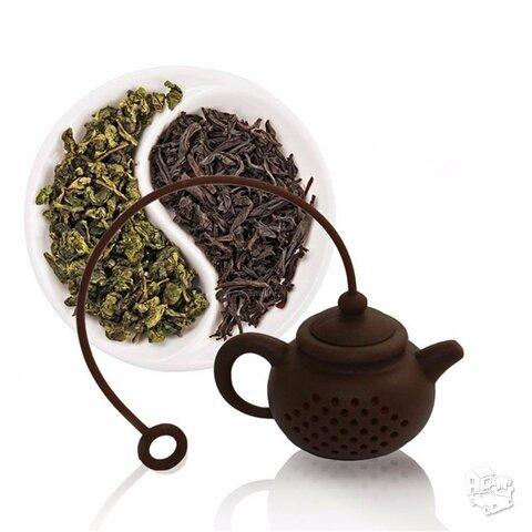 Silikoninis sietelis arbatai