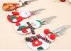 Kalėdinė dekoracija stalo įrankiams, 4 vnt.