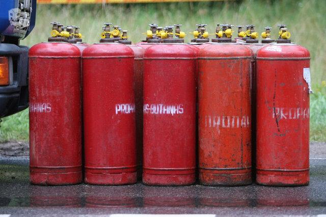 SUPERKU - dujų / propano balionus