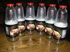 Tusti stiklinai buteliai