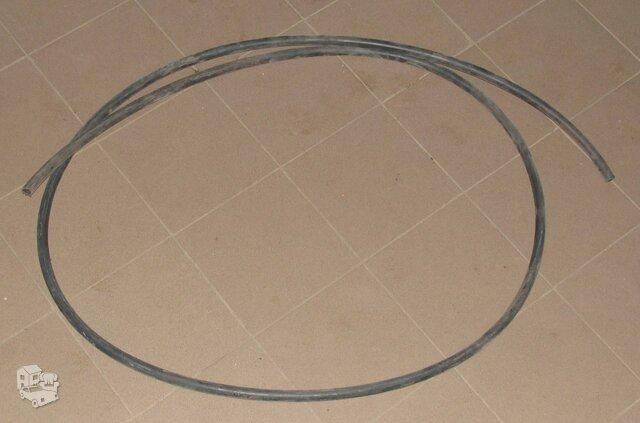 Techninis PVC juodas vamzdis