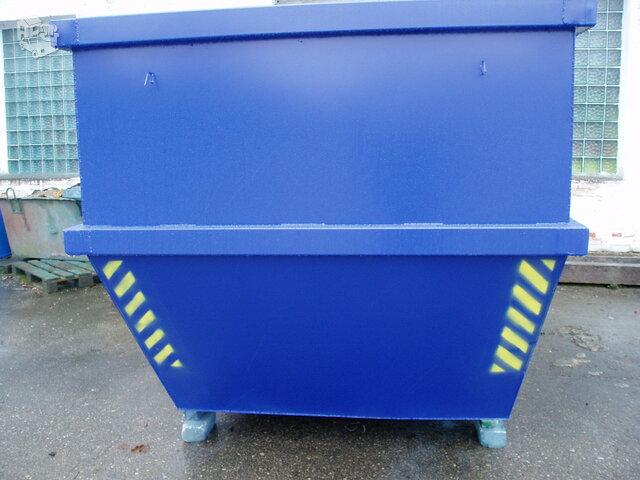 Statybinių atliekų konteineriu gamyba