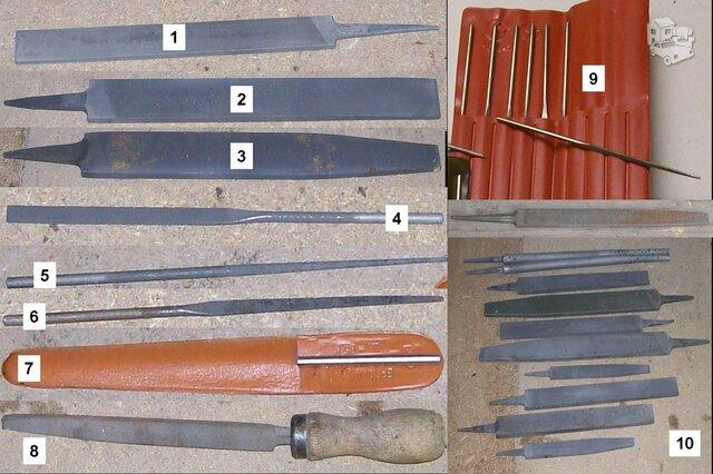 Deimantinės ir paprastos rankinės dildės