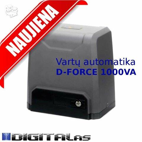 Automatiniams vartams D-FORCE1000VA stumiamiems - namams, koted