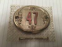 """Metalinis Buto / Kambario Durų """"47"""" Numeris"""