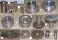Tekintos metalinės detalės