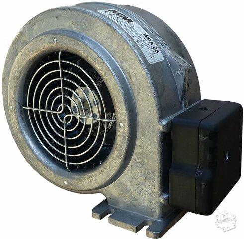 Orapūtės- ventiliatoriai  , dūmsiurbės katilams