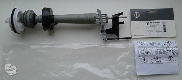 Gustavsberg klozeto nuleidimo mechanizmas, tvarkingas.