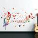 "Sienos lipdukas ""Musical Note"""