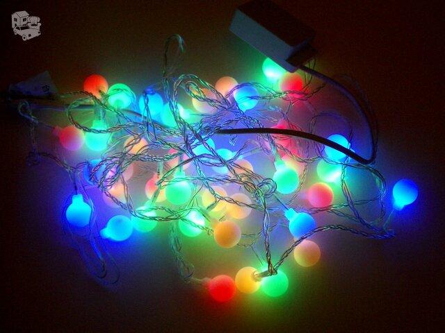 Naujos labai grazios  kalėdinės eglutės lemputės