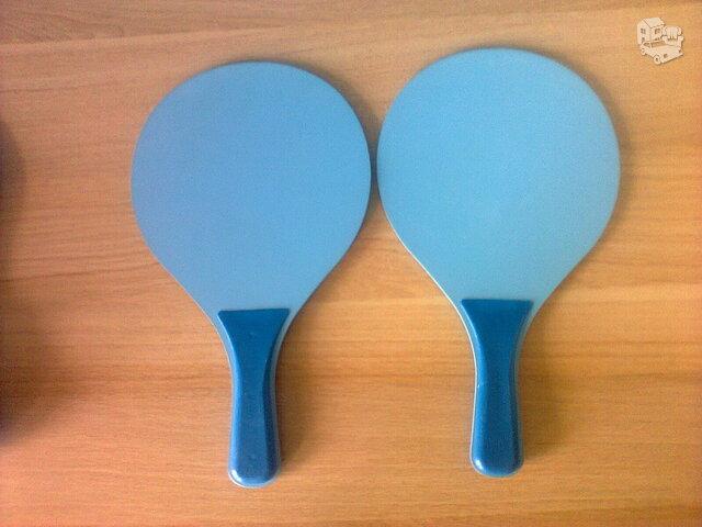 Naujos paplūdimio teniso raketės