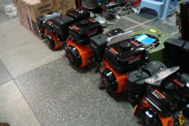 Varikliai benzininiai /bendzininis/dizelinis
