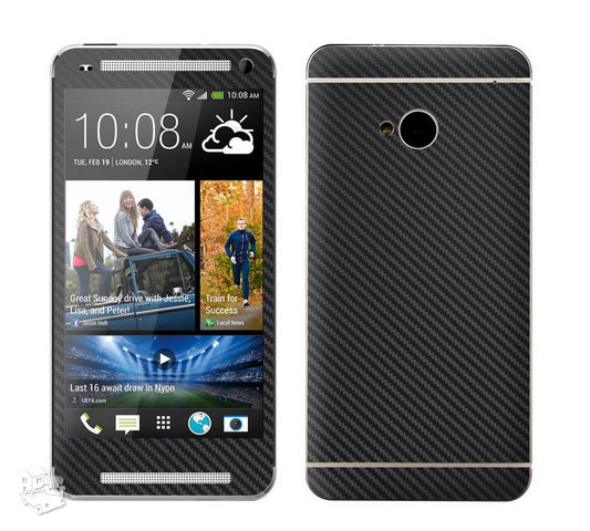 HTC ONE full body apsauga Carbon M7