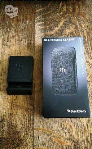 Blackberry Classic Q20 origin odinis dėklas ir krovimo stovelis