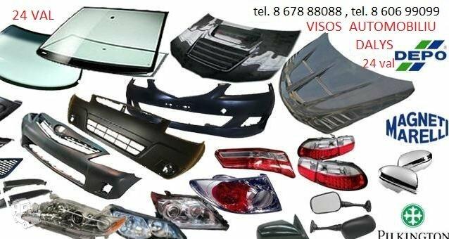 Toyota Hilux kėbulo dalys / žibintai