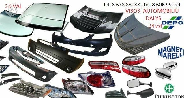 Toyota Sienna žibintai / kėbulo dalys