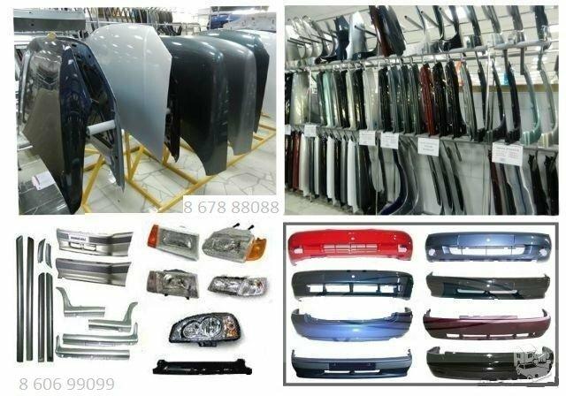 Hyundai kėbulo dalys