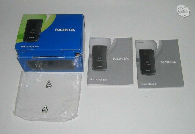 Dėžė su dokumentais nuo telefono Nokia 2720 fold