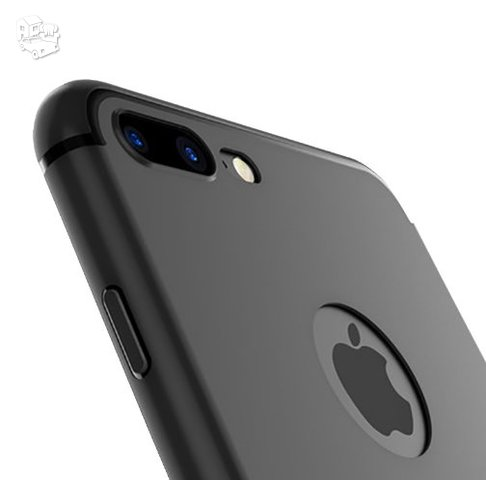 Juodi Apple Iphone galinės dalies dėklai