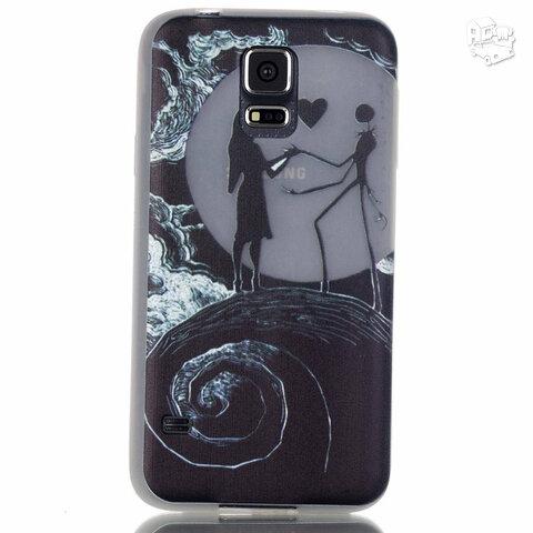 Dėklas Samsung Galaxy S5 i9600 šviečiantis tamsoje