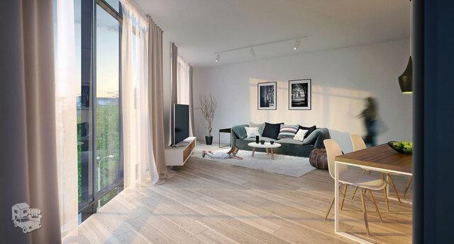 2 kambarių butas Vilniuje, Naujamiestyje, J. Basanavičiaus g.