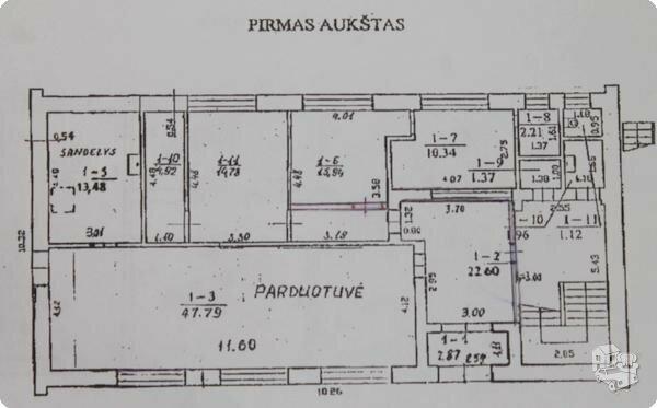Gyvenamasis namas Ignalinos r. sav., Kazokinėje