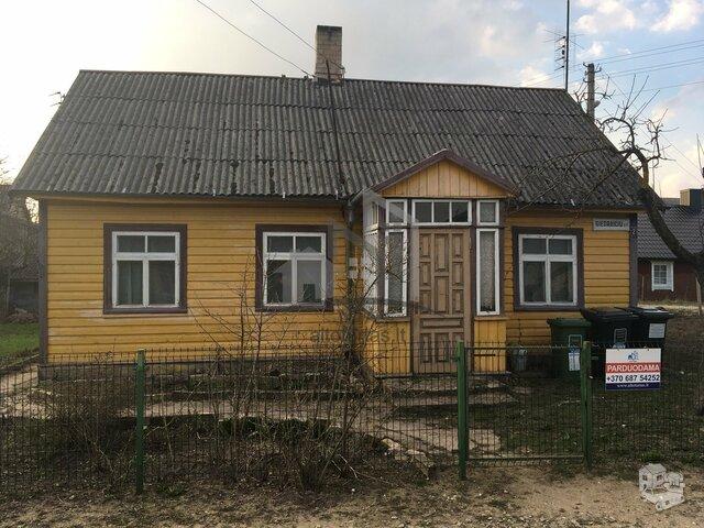 Gyvenamasis namas Radviliškio r. sav., Radviliškyje, Giedraičių g.