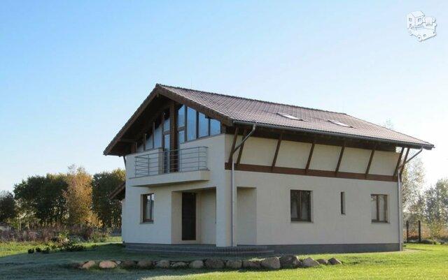 Gyvenamasis namas Klaipėdos r. sav., Mazūriškiuose, Juodžemių g.
