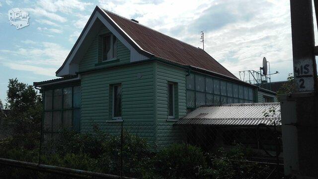 Gyvenamasis namas Klaipėdos r. sav., Dercekliuose