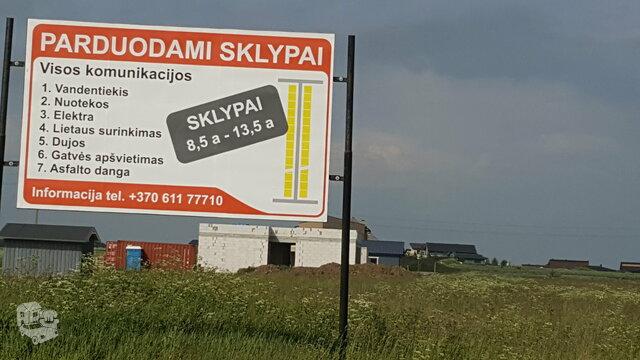 Sklypas Klaipėdos r. sav., Trušeliuose, Linkoniškių g.