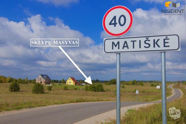 Sklypas Trakų r. sav., Matiškėje