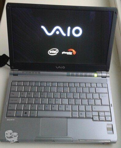 Mažas nešiojamas kompiuteris Sony Vaio  Model: PCG4K1M  Netbook