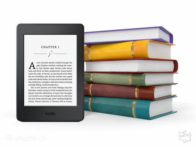 Kindle PAPERWHITE 3 skaityklė 89 Eur