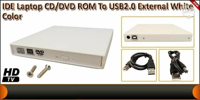 Usb 2.0 Ide CD-dvd išorinė dėžutė