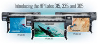 HP lateksiniai plačiaformačiai spausdintuvai