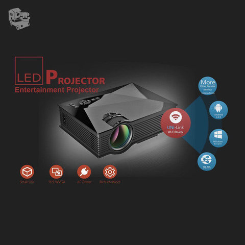 LED projektorius UNIC UC46 wifi FULL HD 1080p