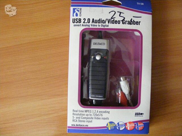 Audio-Video graberis- konverteris