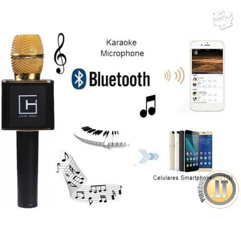 KARAOKE PRABANGUS LEYWITON MICROPHONE WIRELESS BLUETOOTH