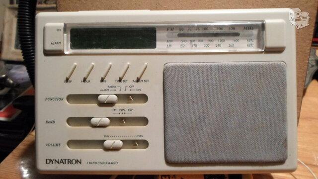 Radija,laikrodis 1
