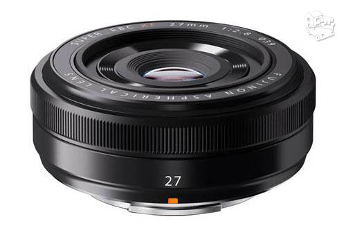 Naujas Fujinon 27 mm F2.8 objektyvas