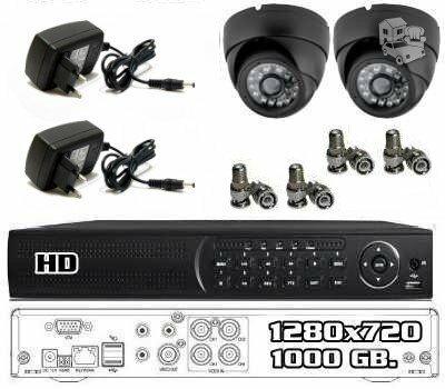 Aukštos raiškos vaizdo stebėjimo sistema HD7