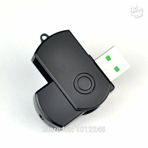 Slapta kamera - raktų pakabukas
